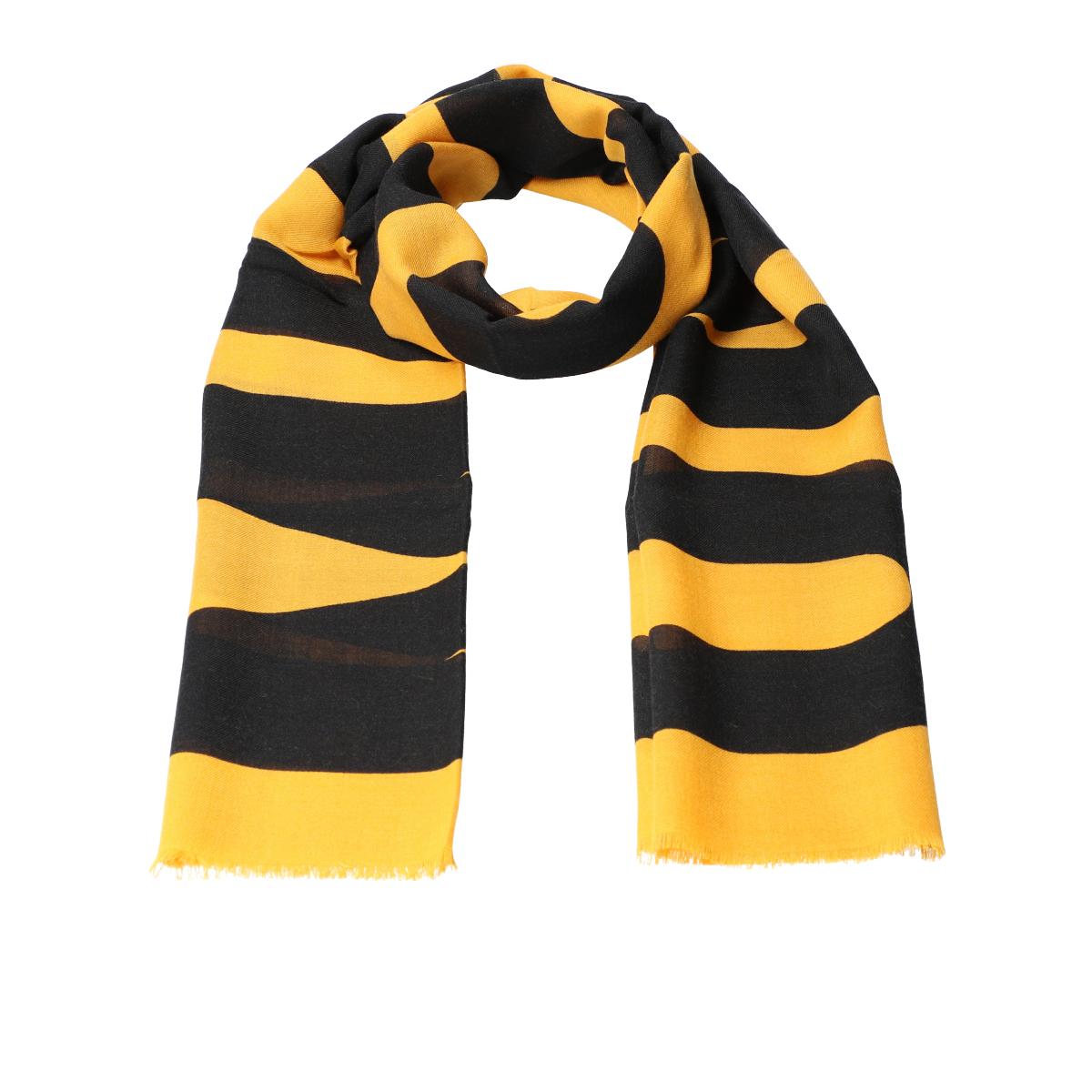 Printed scarf 55x190