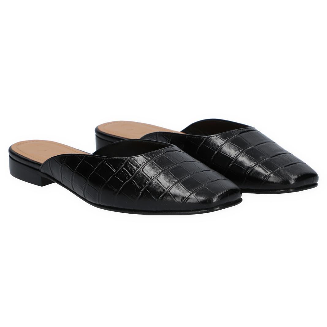 Malva black croco