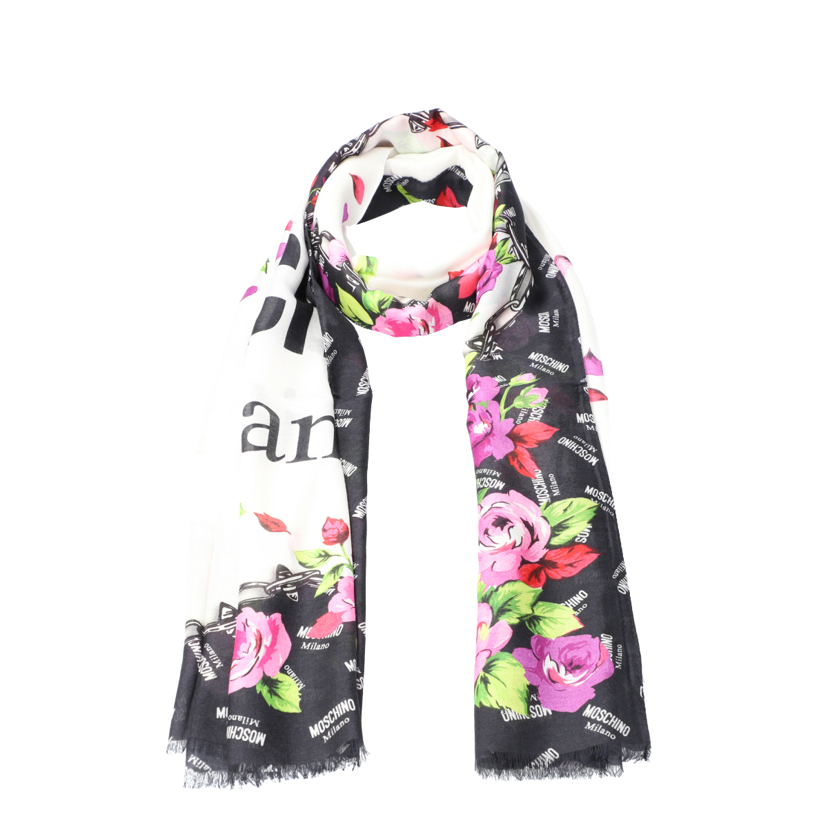 Printed Scarf 90x200