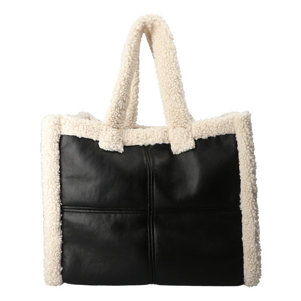 Lola shearling bag
