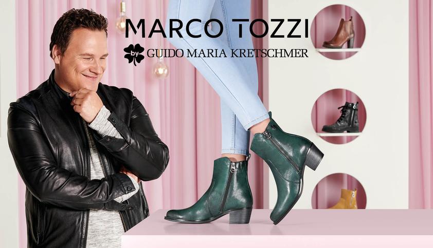 Guido Maria Kretschmer Marke Marco Tozzi