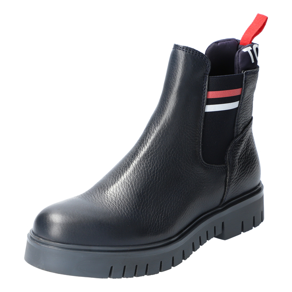 Padded Tongue T Chelsea Boot