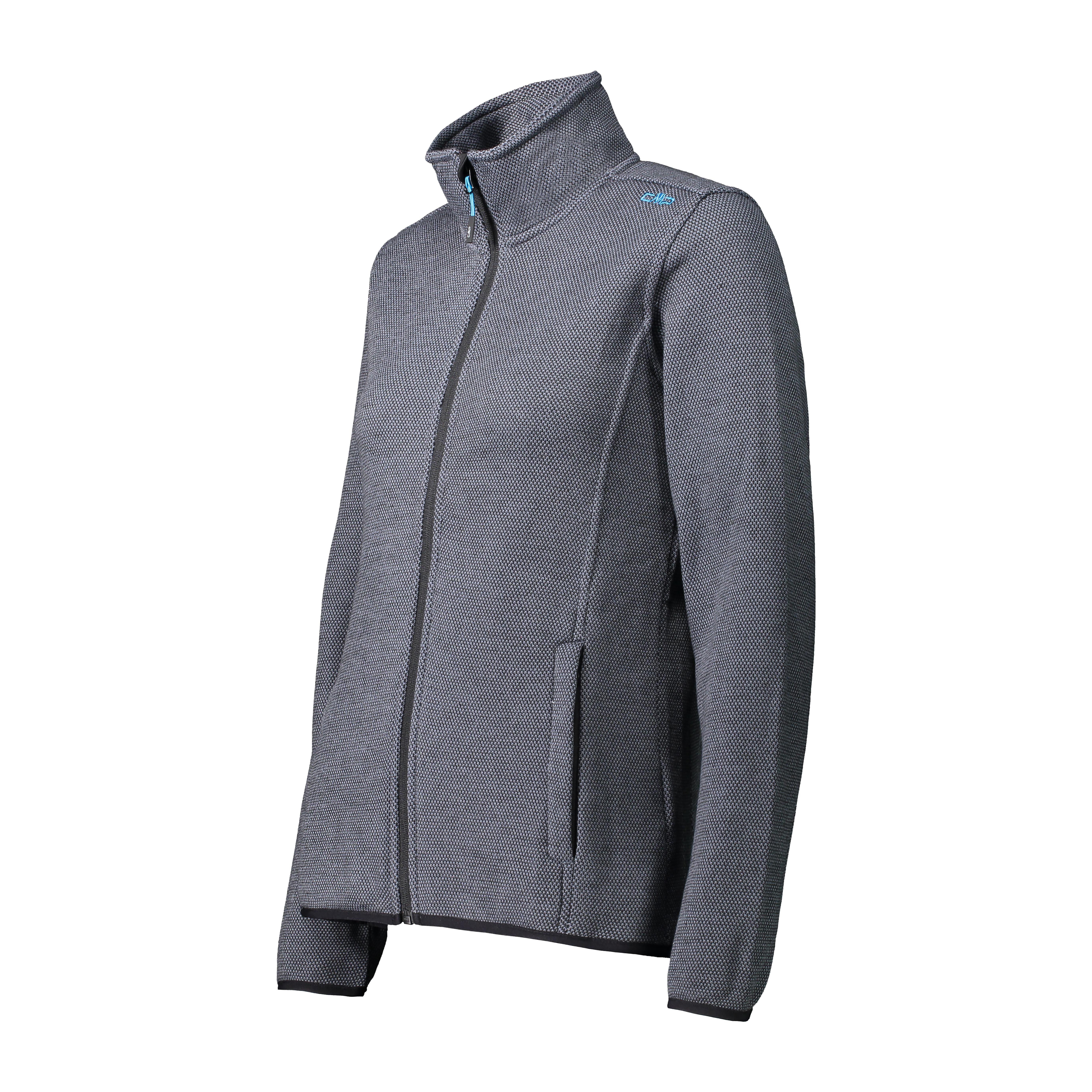 Woman Jacket Knit Tech