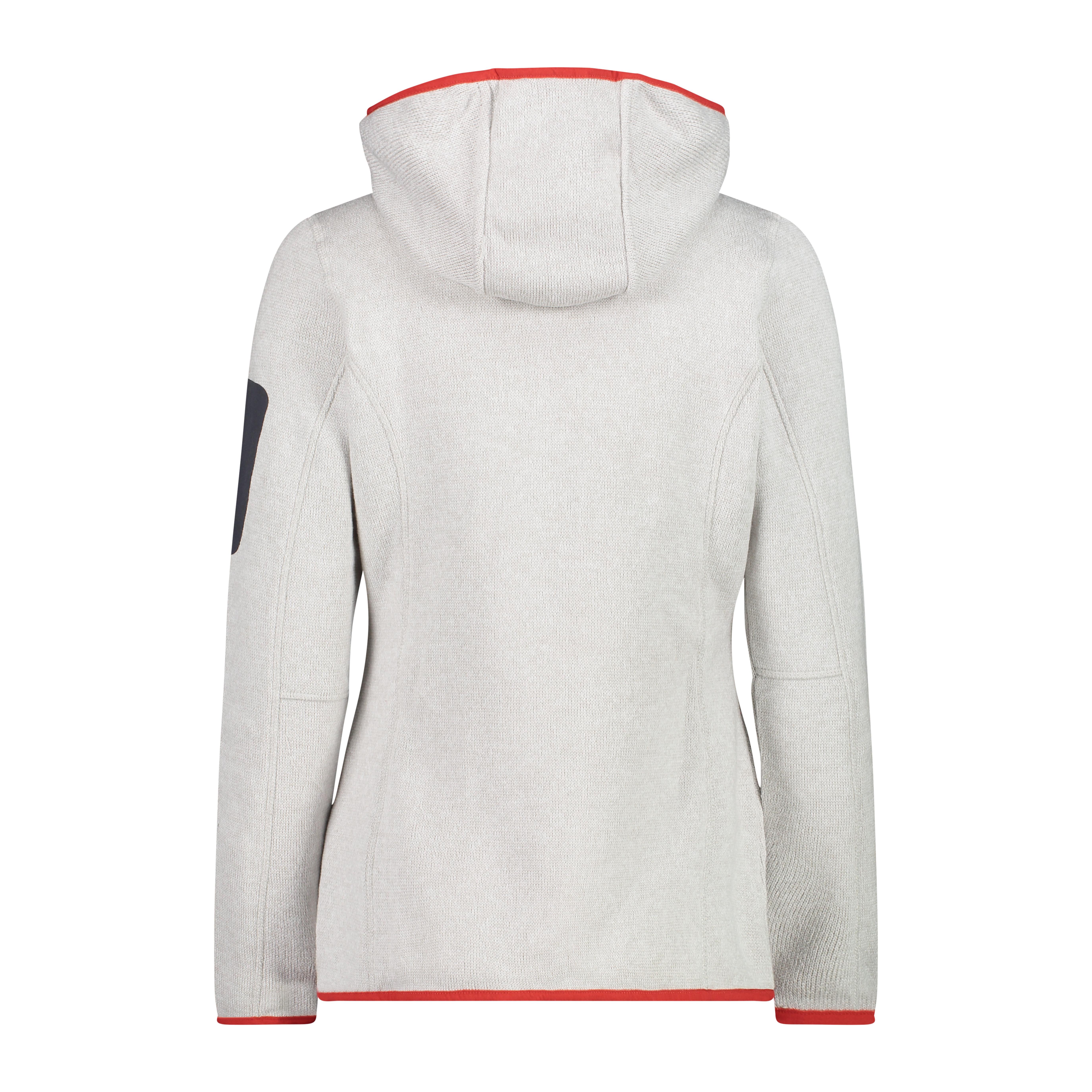 Fix Hood Jaquard Knitted W