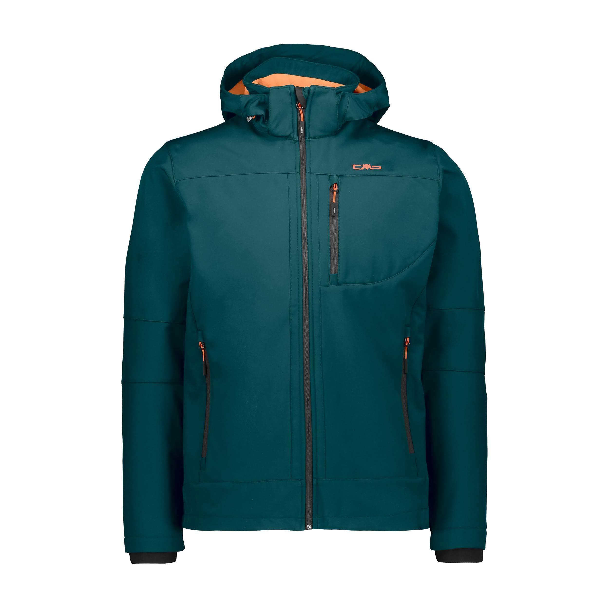 Man Jacket Zipp Hood